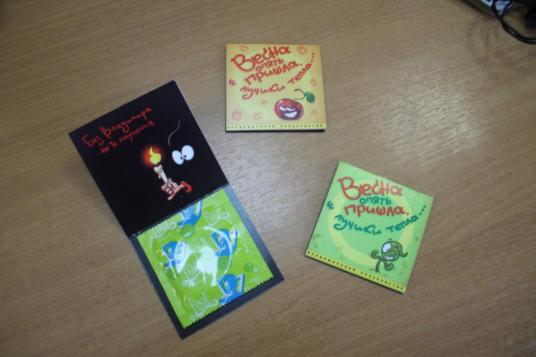 ВоВладимире создали презервативы «совкусом» Владимирского централа