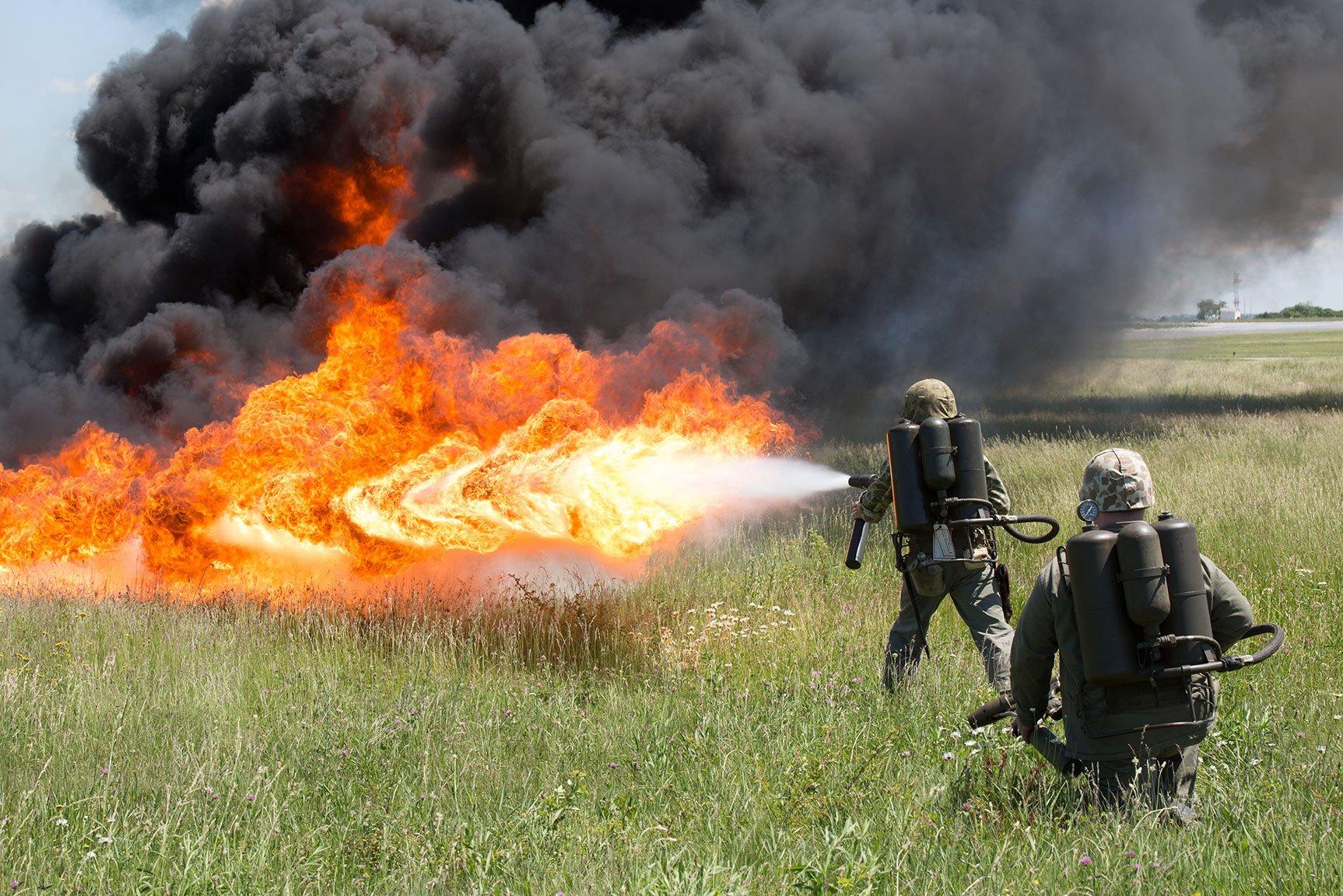 Украина сообщила осоздании реактивных пехотных огнеметов