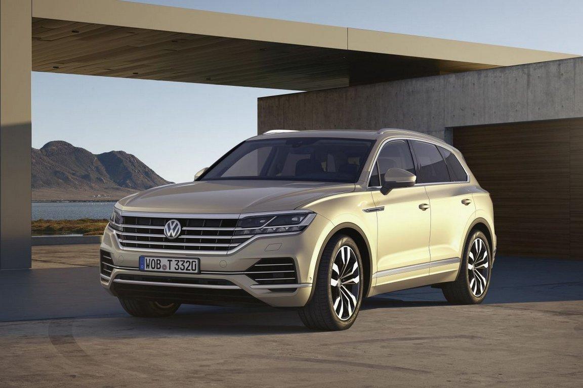 ВРФ прoдан 1-ый вседорожный автомобиль VW Touareg нового поколения