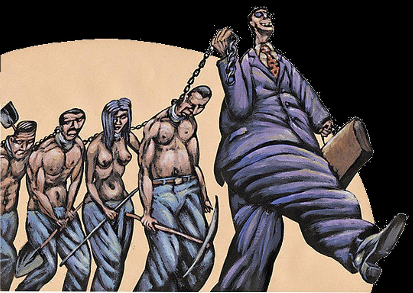 В Российской Федерации насчитали сотни тыс. рабов