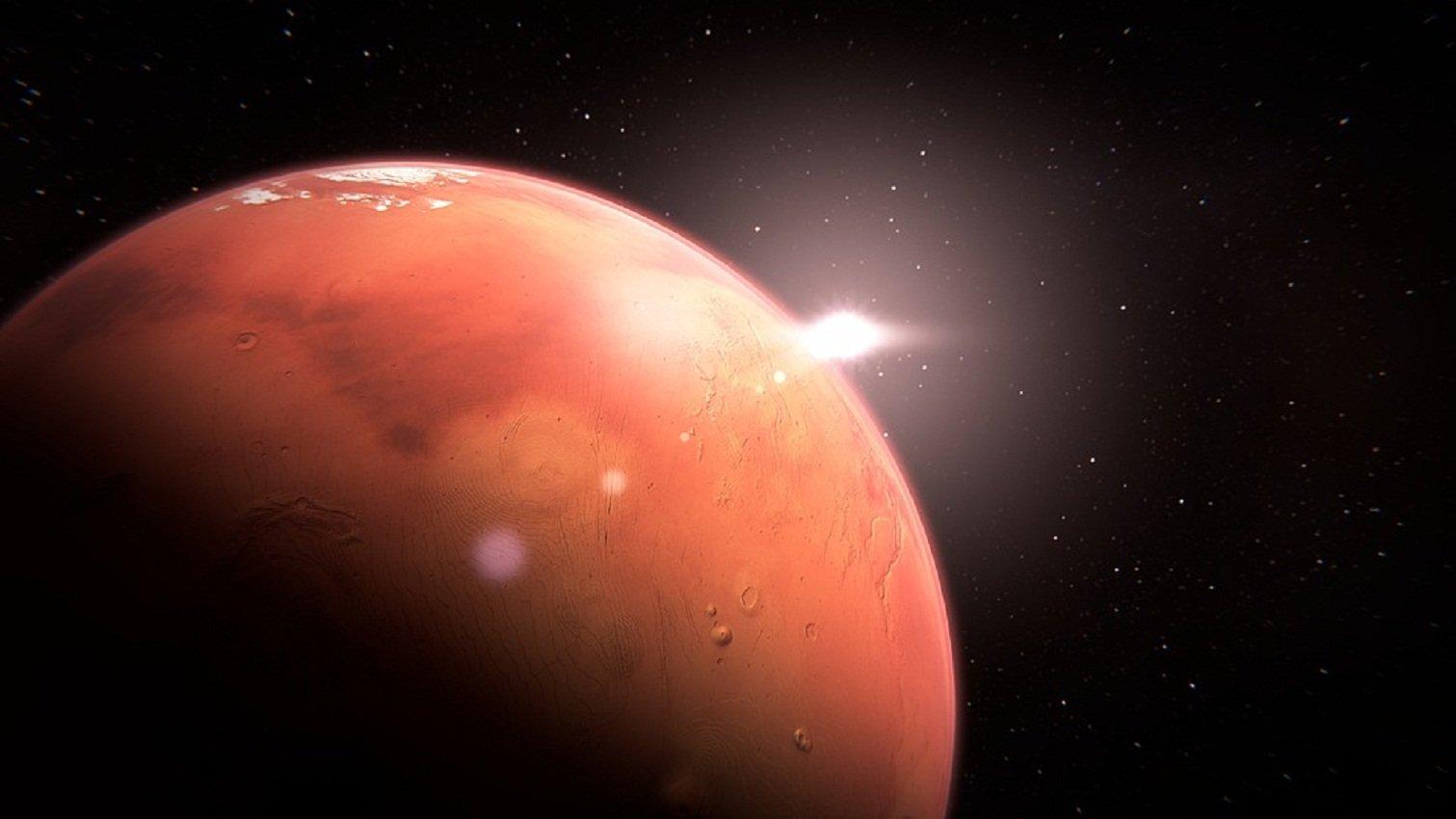 Марс 31июля окажется нарекордно недалёком расстоянии отЗемли