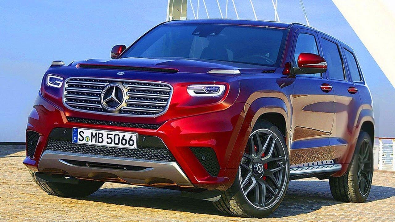 Mercedes-Benz выпустит конкурента Range Rover Sport