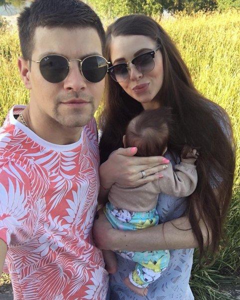 Ольга Рапунцель и Дмитрий Дмитренко окрестили свою дочь