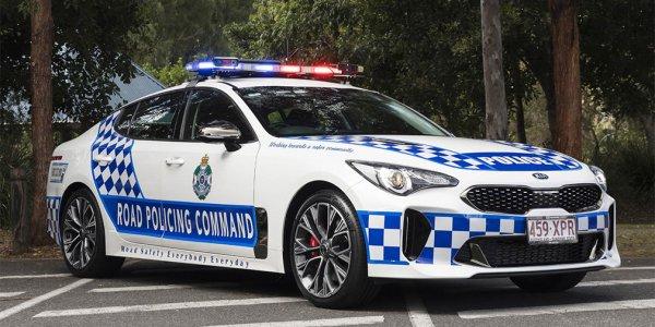 Полицейские из Австралии пересядут на Kia Stinger
