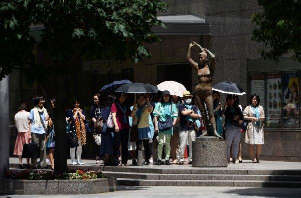В Японии от жары погибли12 человек