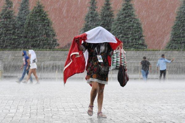 В Москве выпало 20% месячной нормы осадков за день