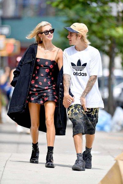 Новая девушка заставила Джастина Бибера носить Adidas