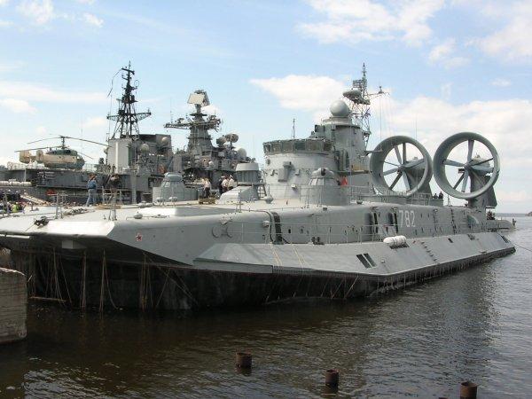 В России до 2027 года появятся десантные корабли на воздушных подушках