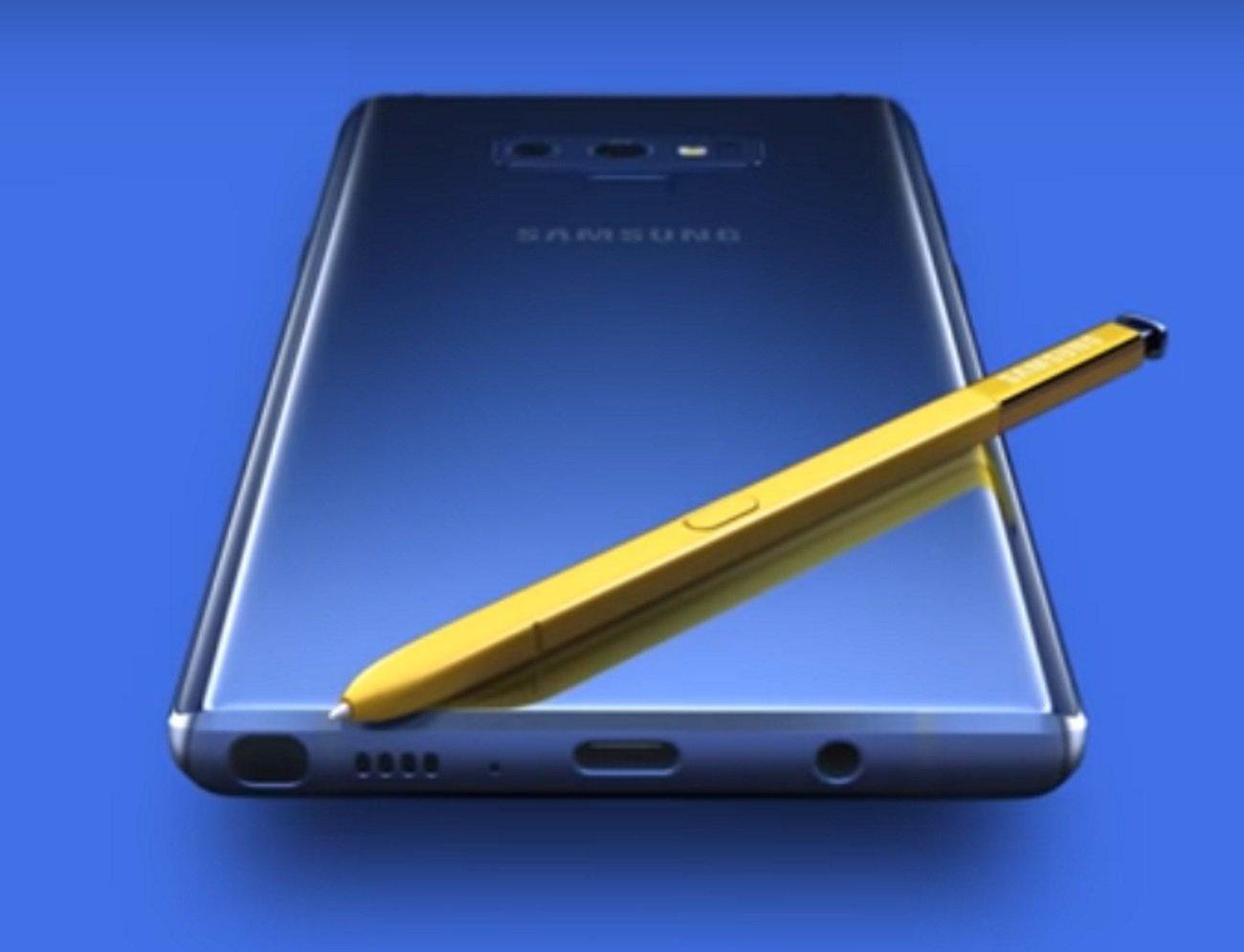 Официальный рекламный ролик телефона  Самсунг  Galaxy Note 9
