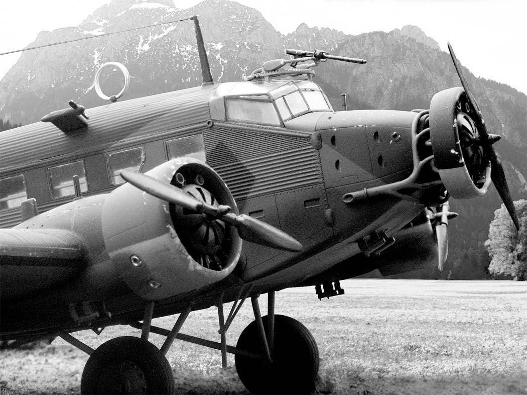 ВАльпах разбился германский «Юнкерс» времён 2-ой мировой