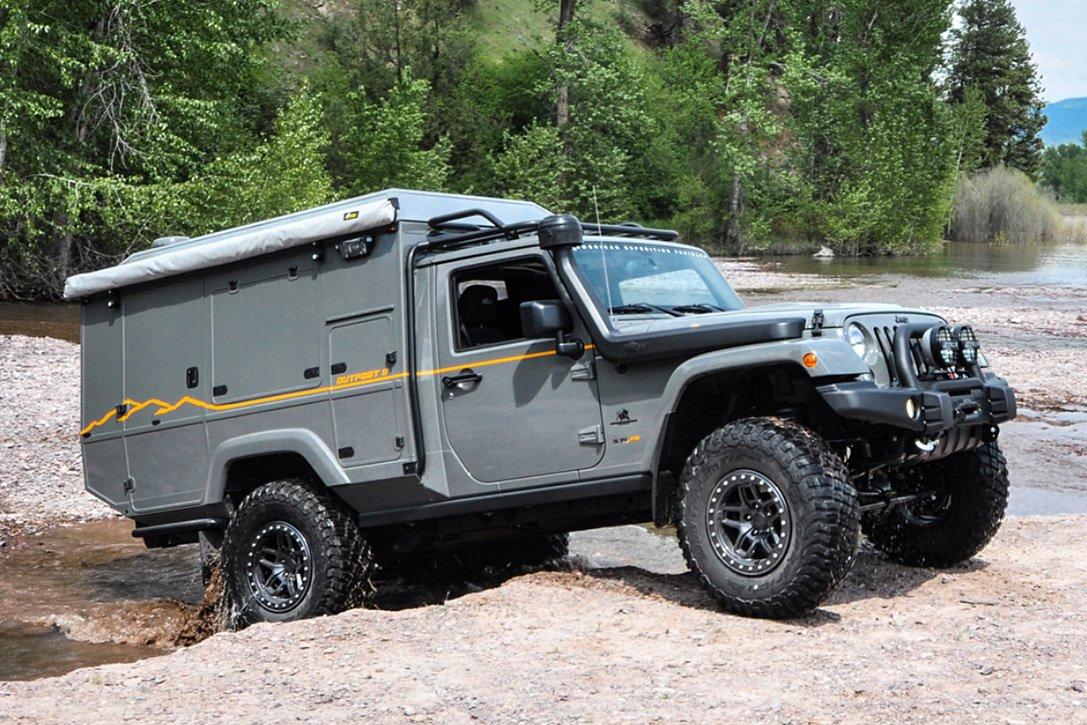 Кемпер Outpost II на базе Jeep Wrangler