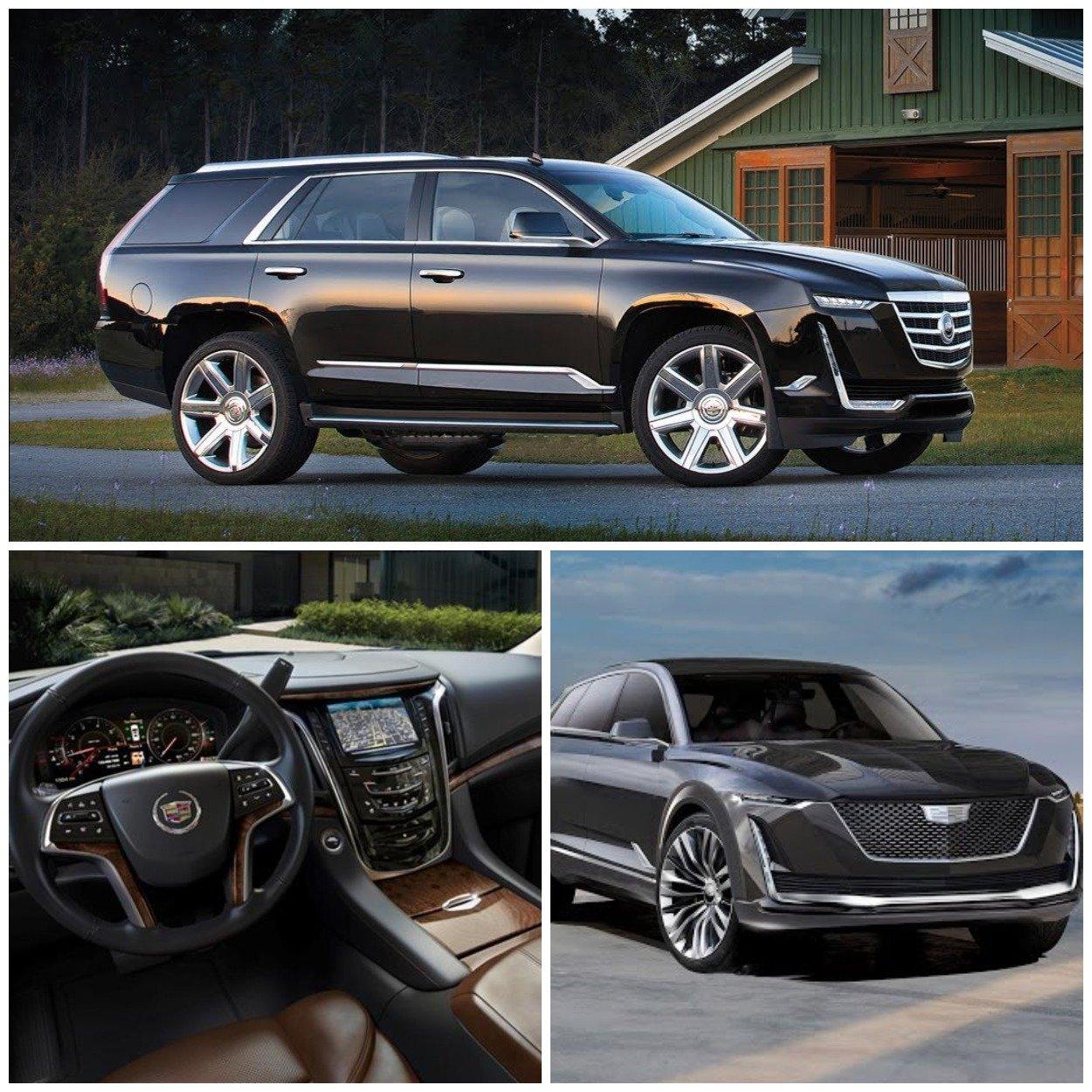 Новый Cadillac Escalade может иметь три варианта двигателя