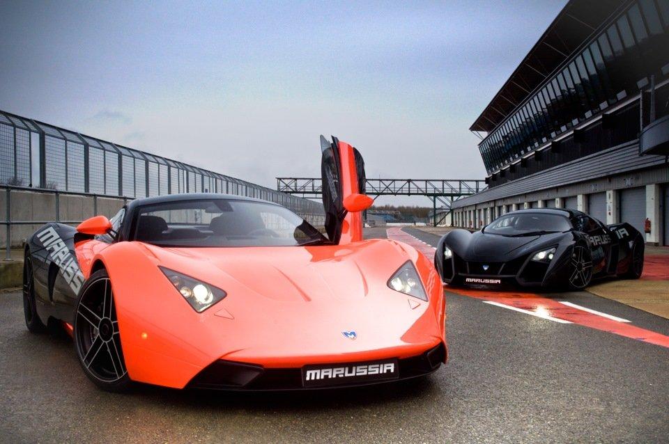 Восстановленный спорткар Marussia оценили в 10 миллионов рублей