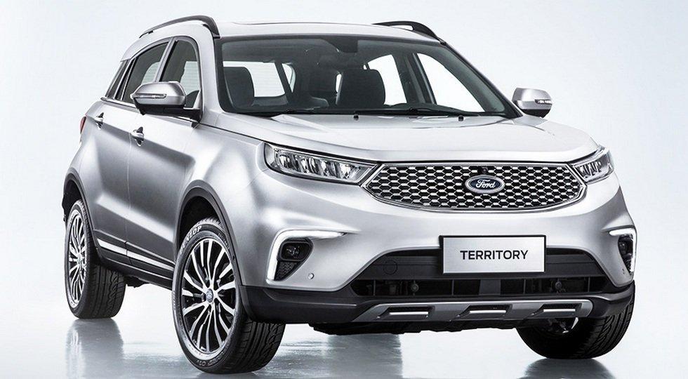 Рассекречен абсолютно новый бюджетный кроссовер Ford Territory