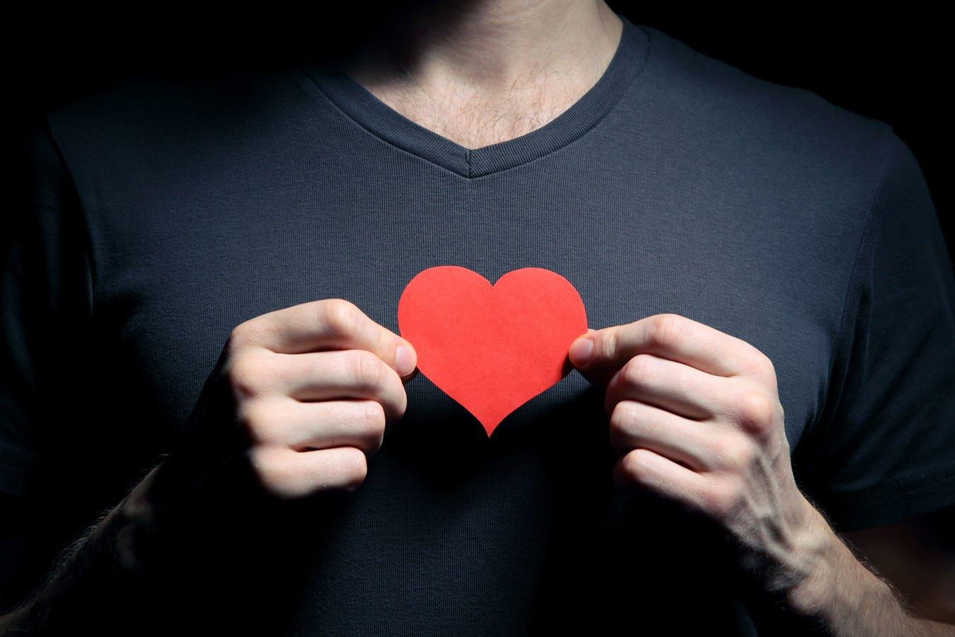 картинка парень и рядом сердце