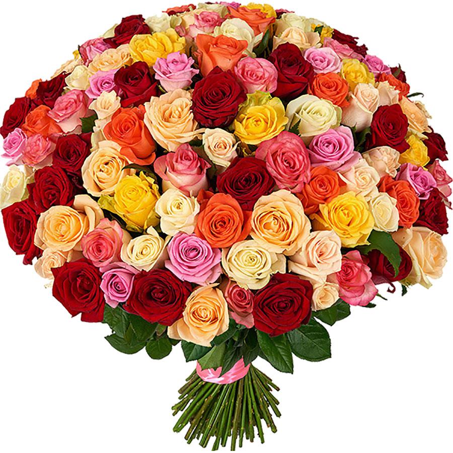 открытка много цветов оборудуют
