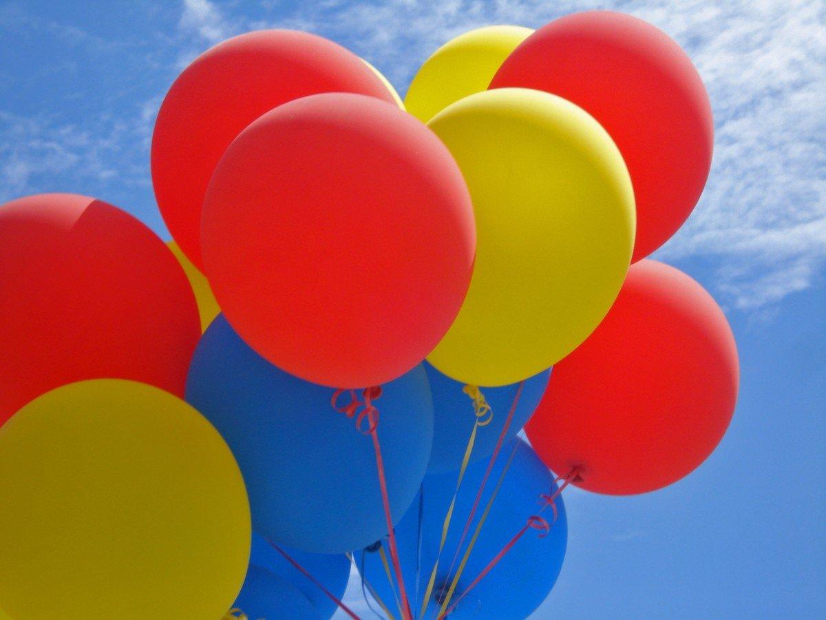 Картинки с шарами поздравляю