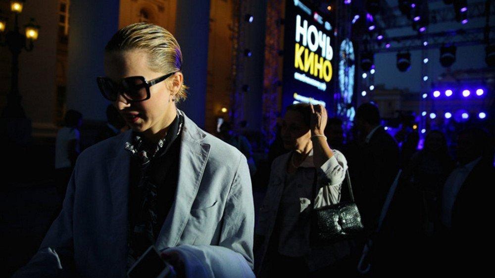 Посетители парка «Зарядье» увидят лучший фильм о Москве на фоне Кремля «Ночью кино»