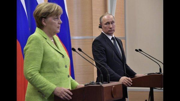 Путин и Меркель рассказали о роли Украины после запуска «Северного потока-2»