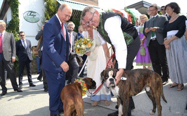 Танцы Путина «довели» Австрию до санкций