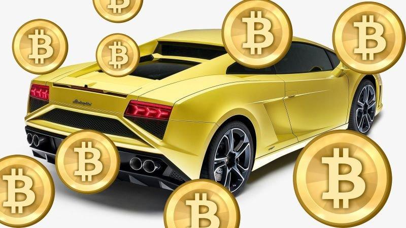 Роскошные автомобили скоро можно будет купить в США за криптовалюту