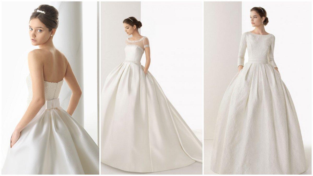 d9931efeb18 Новый тренд  Свадебные платья с карманами приобретают популярность ...