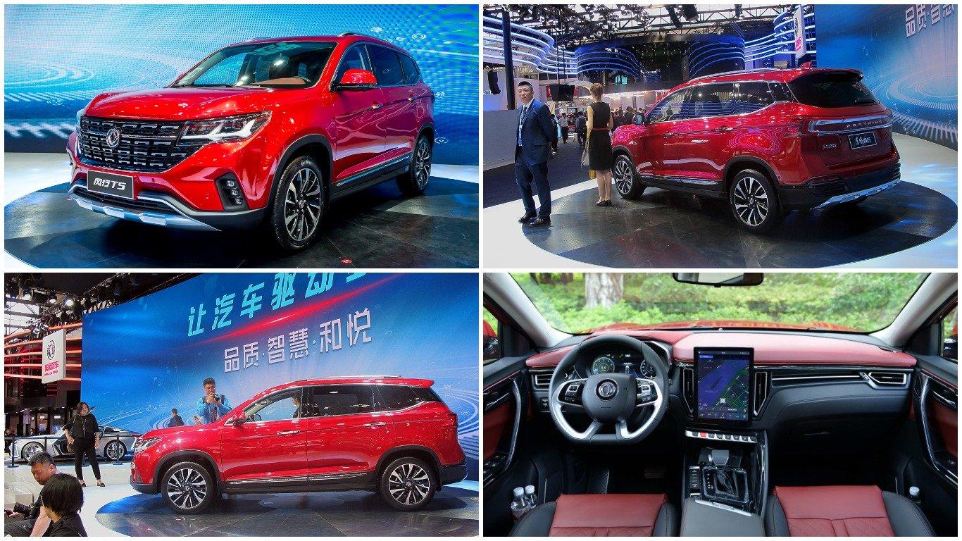 Начались продажи Dongfeng T5 сдизайном встиле новогоVW Touareg