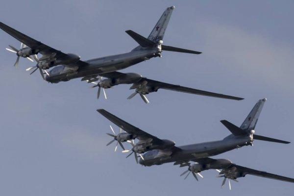 Американские истребители F-22 уже второй раз за год перехватили российские Ту-95