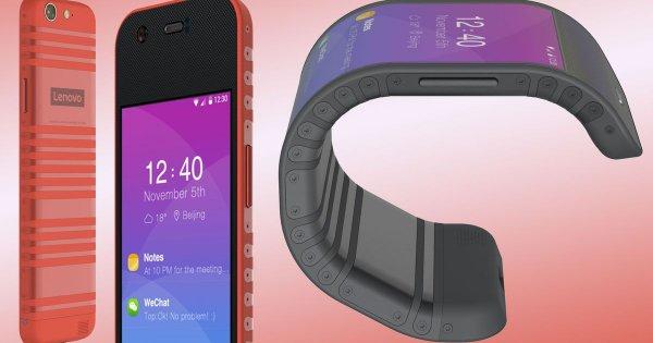 Инсайдеры опубликовали видео сгибающегося смартфона Lenovo