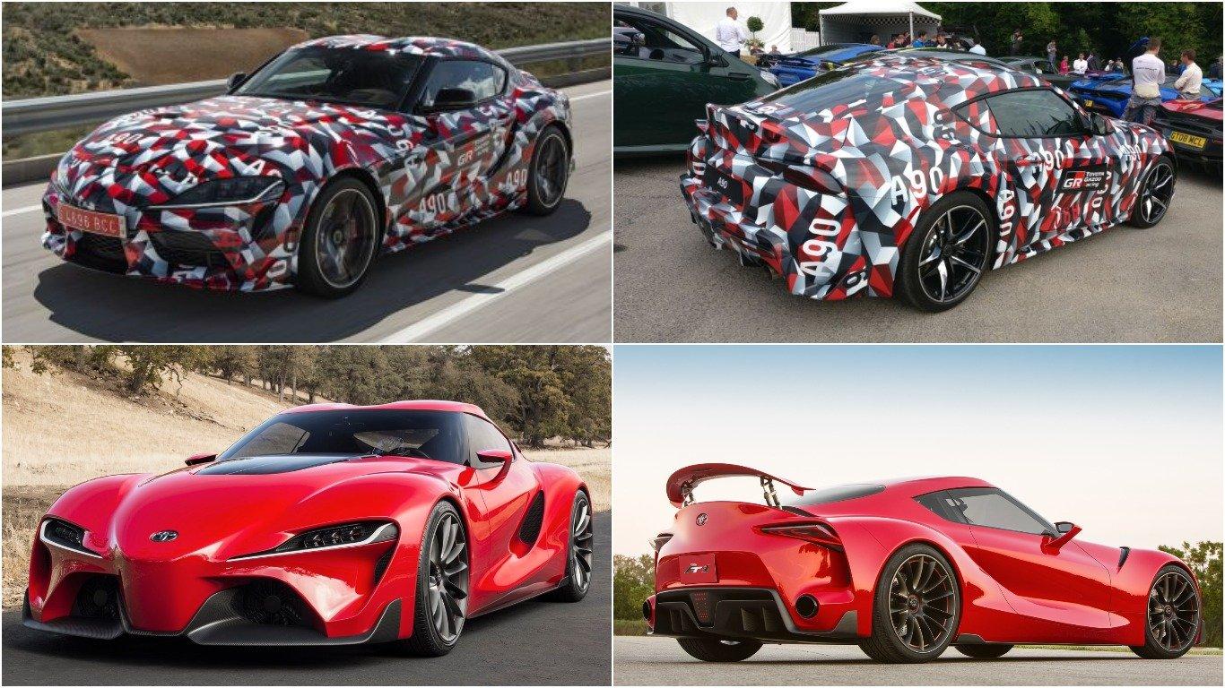 Тоёта Supra официально на автомобильном салоне вДетройте