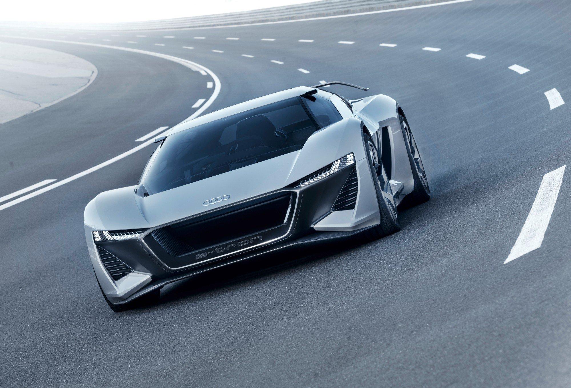 Audi представит в Лос-Анджелесе электрический купе-седан Audi e-tron GT