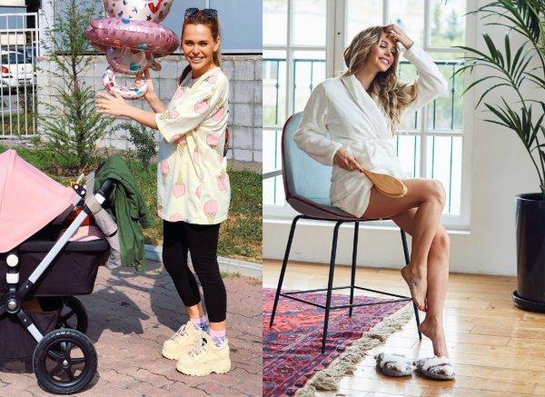 Анна Хилькевич не может похудеть после рождения ребёнка