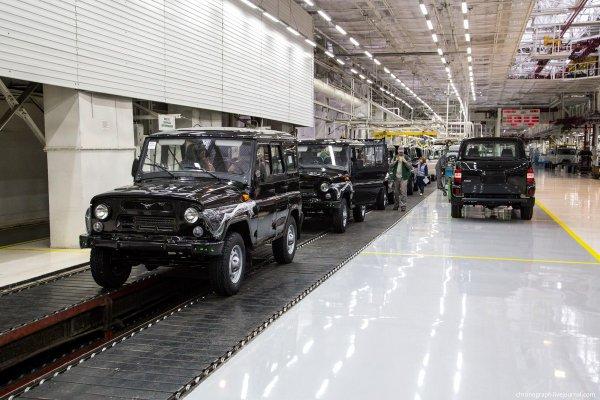 УАЗ усилил контроль качества сборки автомобилей