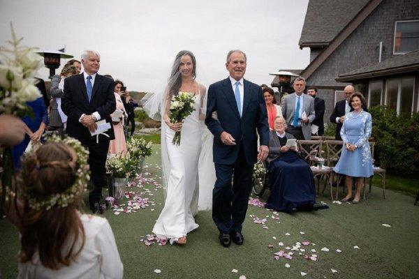 Дочь Джоржда Буша-младшего пошла под венец