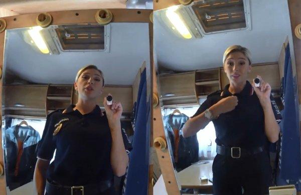 Ивлеева примерила образ полицейской для нового сериала