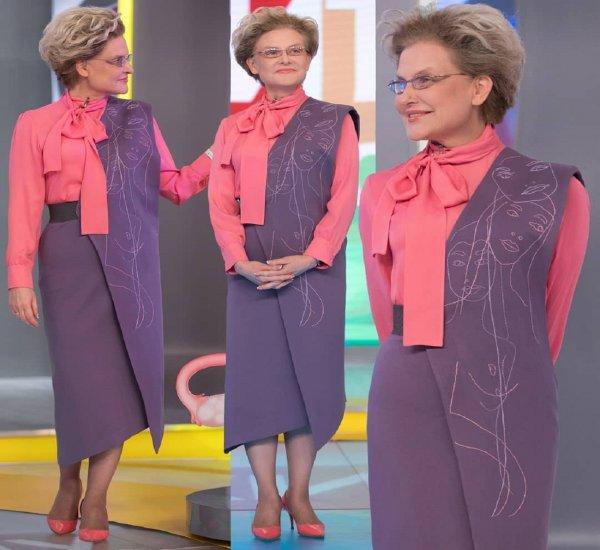 Елена Малышева назвала причину кардинального изменения стиля одежды