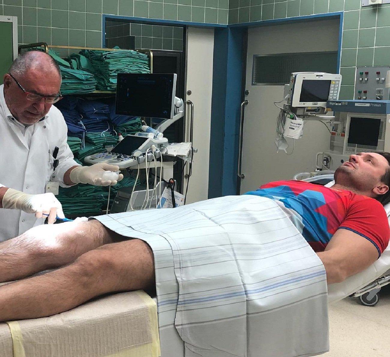 Дрессировщику Эдгарду Запашному вГермании предстоит хирургическая операция наколене