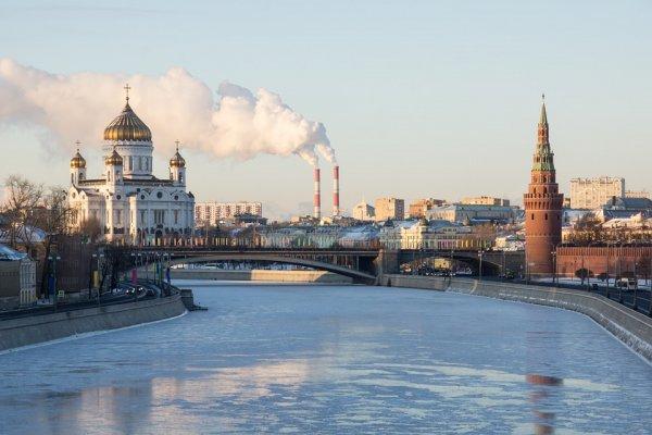На Москву двинулся арктический антициклон