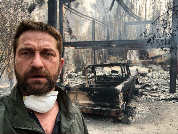 Особняк звезды «Призрака оперы» Джерарда Батлера сгорел дотла при пожаре в Калифорнии