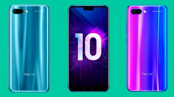 Huawei презентовал Honor 10 Lite