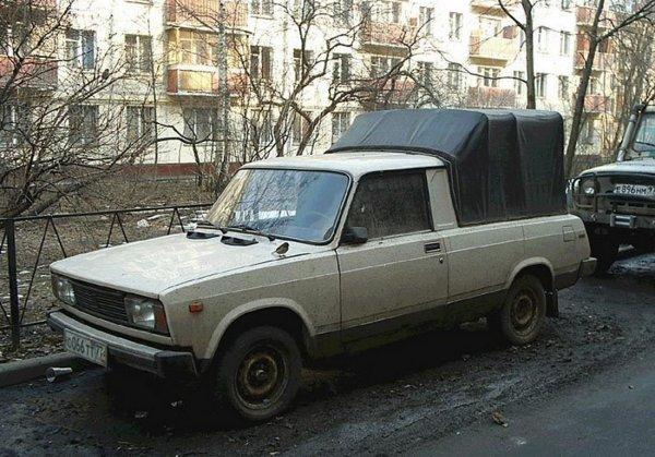 «Жигули»-пикап: Редчайший серийный ВАЗ покорил сеть