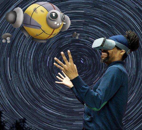 VR-система научилась ходить за пользователя
