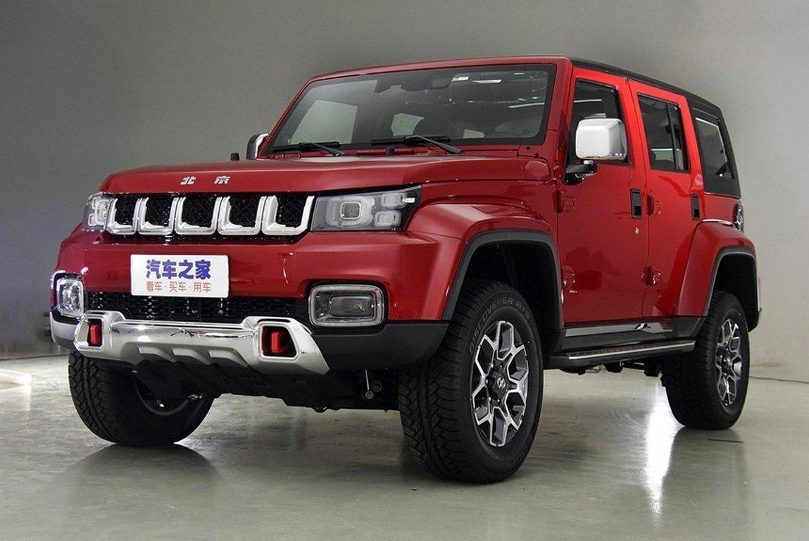 BAIC построил джип Beijing BJ40 Plus сэкстерьером Jeep Wrangler