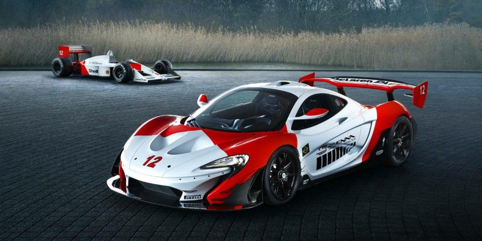 Гиперкар McLaren P1 GTR получил уникальную версию