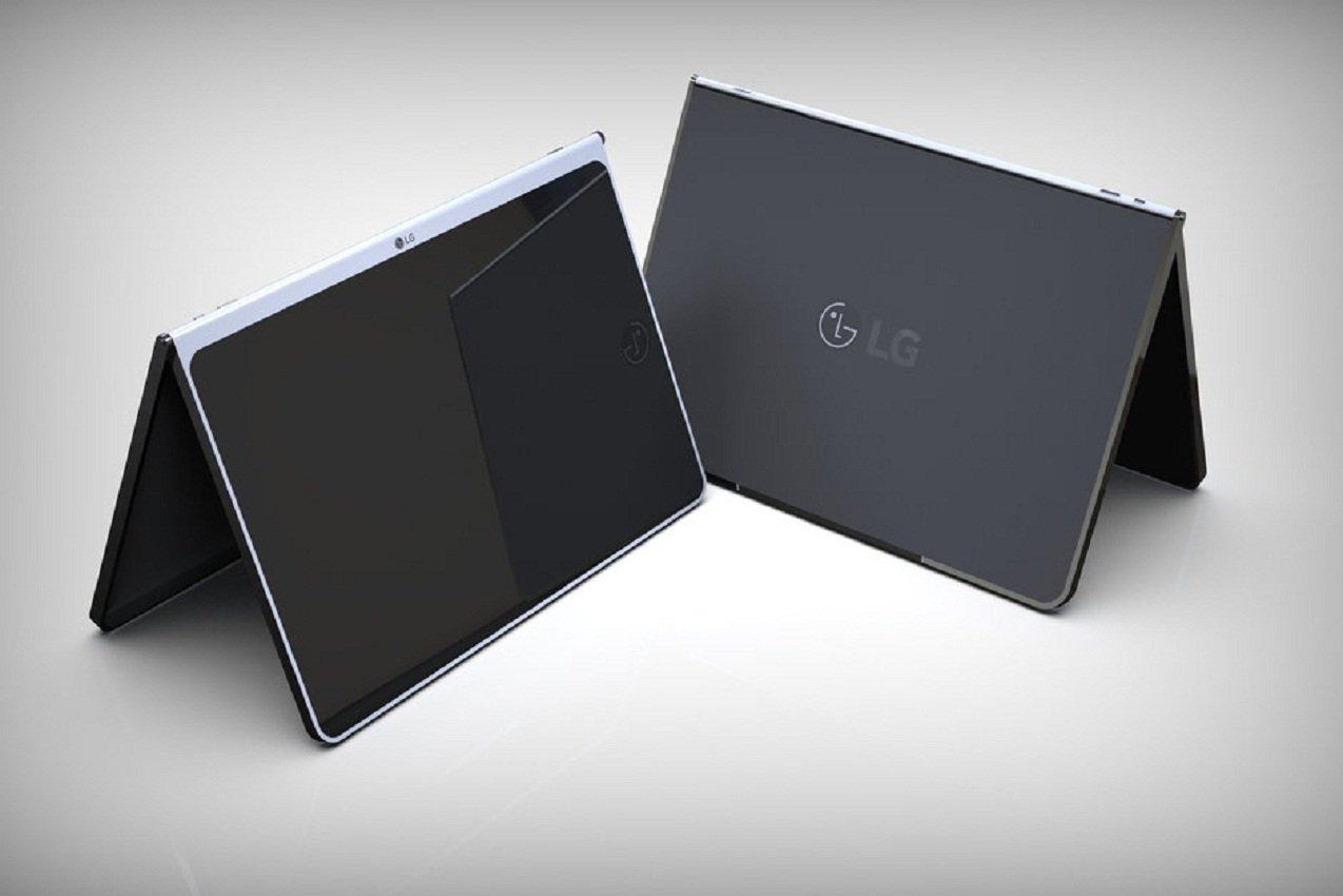LG проектирует планшет с безрамочным дисплеем