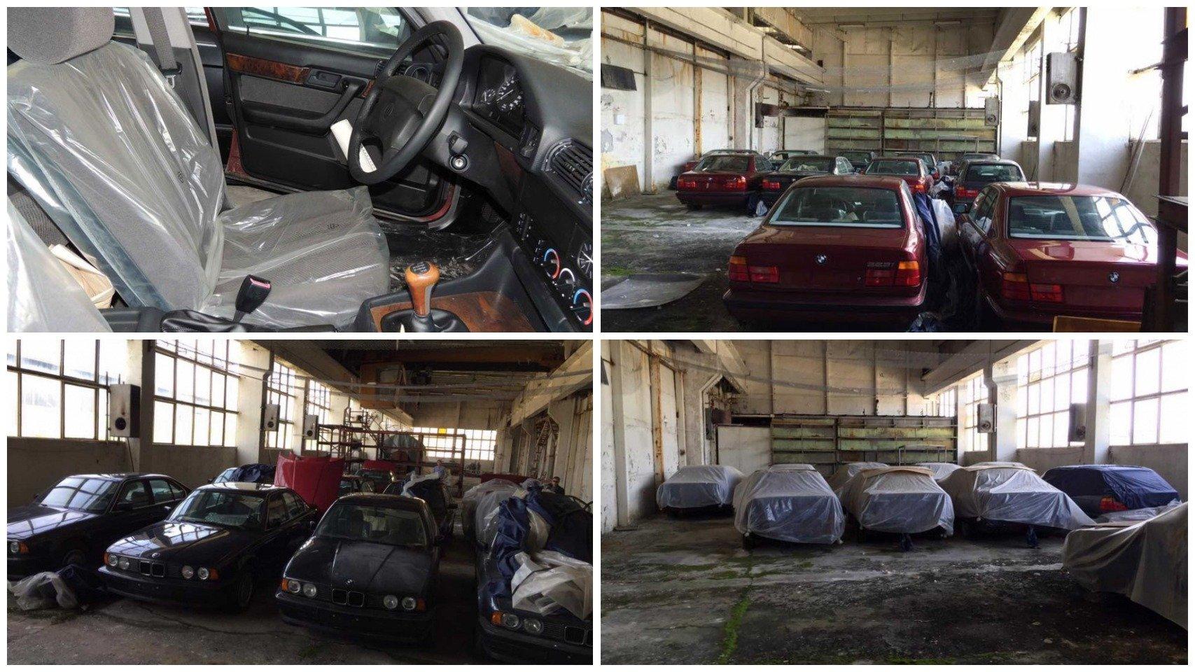 Нашли заброшенный склад с новыми BMW из 90-х