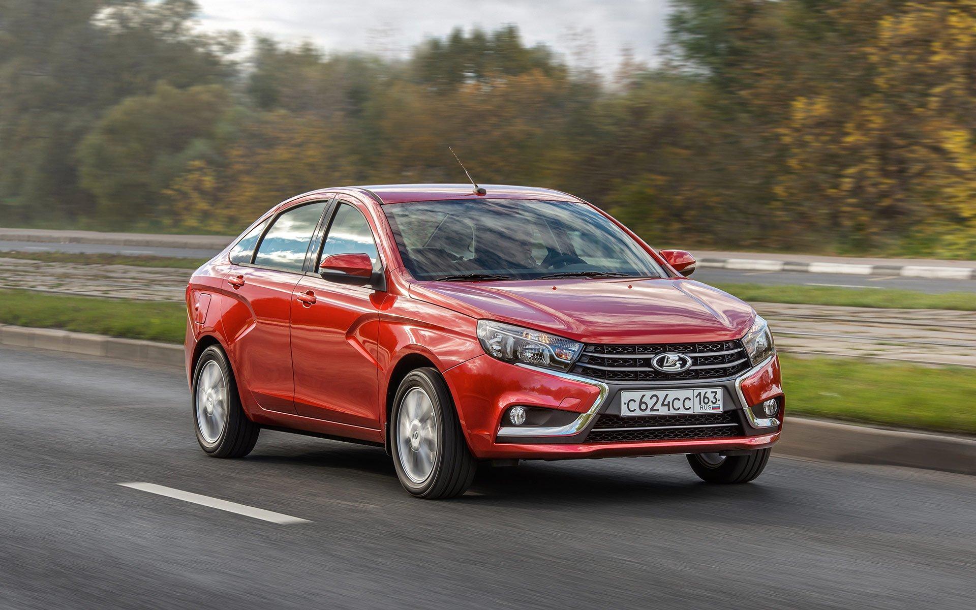 Стартовая стоимость автомобиля Лада впервый раз превысила 1 млн руб.