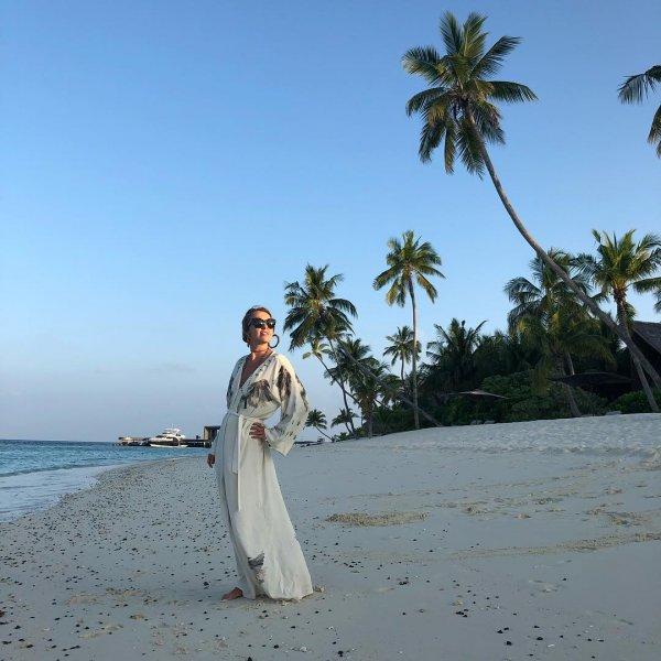«Скинулись на отпуск?»: Собчак и Волочкова вместе отдыхают на Мальдивах