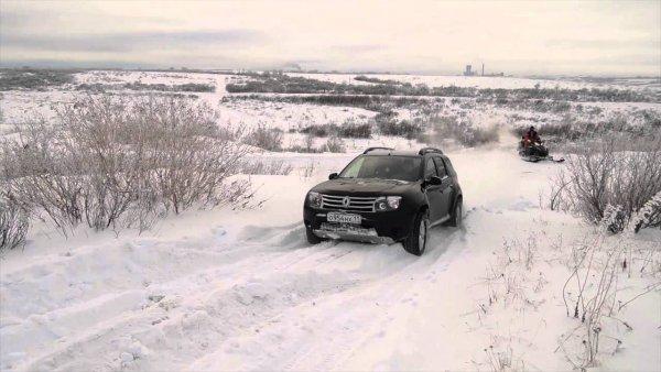 Defecto de invierno Renault Duster mostró propietario: AvtoMedia: VladTime