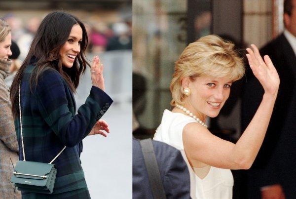 Диана 2.0: Елизавета II может возненавидеть Меган Маркл за неудачные попытки копировать принцессу Уэльскую